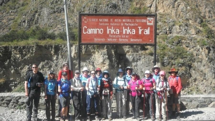 Inca trail macchu pichu (abs amazing)