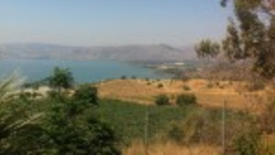Sea of Galilee View from Capernaum