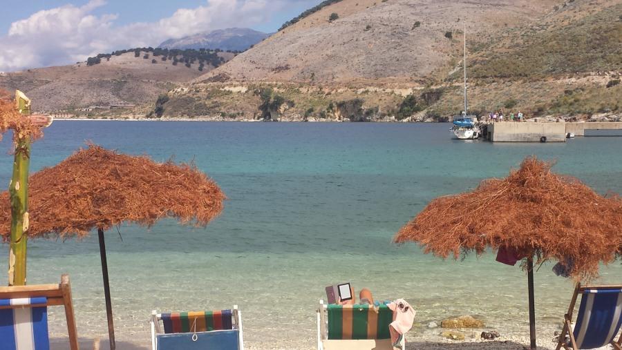 Porto palermo Ali Pash Tepelena castel And beach places