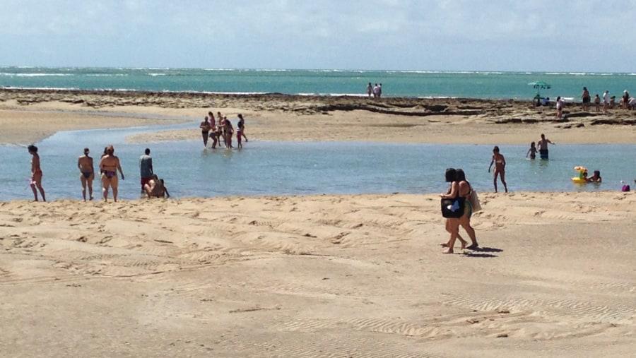 Praia dos Carneiros - piscinas naturais
