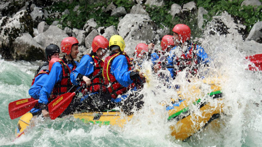 Trisuali river rafting