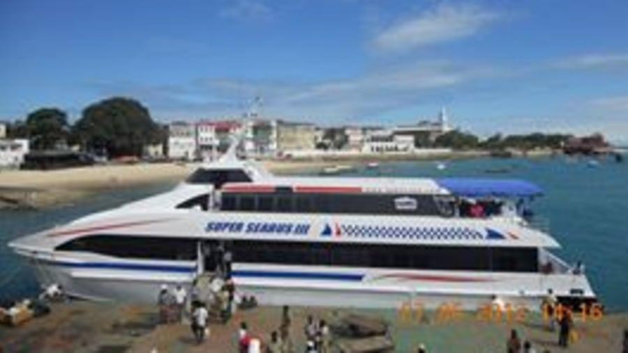 Boarding (Zanzibar - Dar) Azam marine Ferry the reliable one