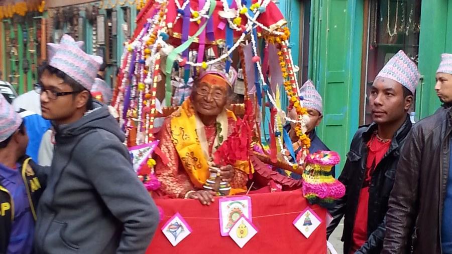 Janku(old  aged ceremony)kathmandu
