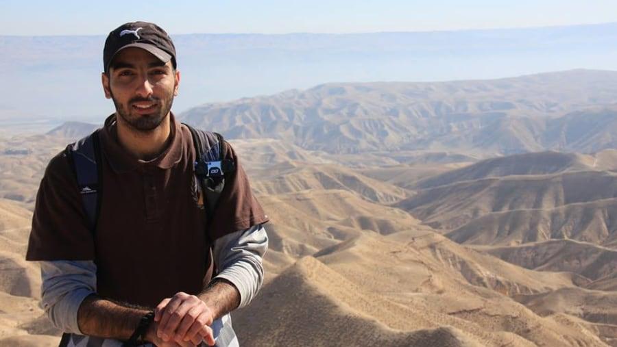 Hiking in Jerusalem Wilderness
