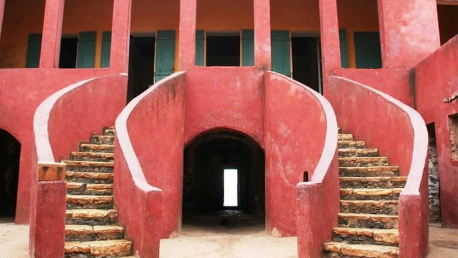 Slave House on Goree Island