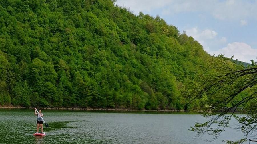 Lake Firiza in June