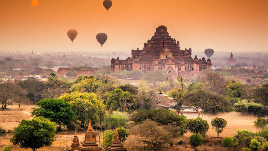 Ancient city of Myanmar