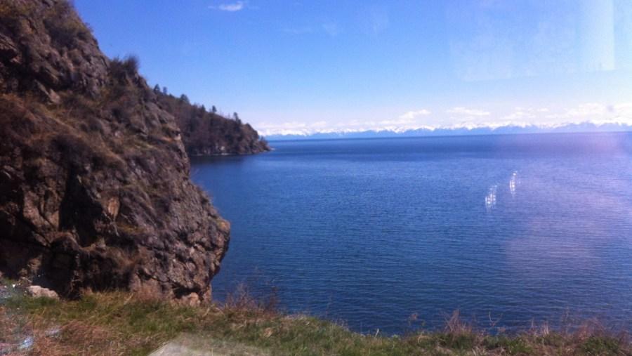 Baikal shore