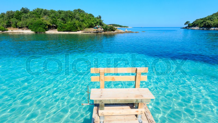 CRYSTAL CLEAR WATER OF KSAMIL BEACHES