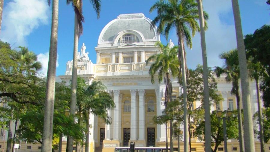 Praça da República (Palácio da Justiça) - Palace of Justice