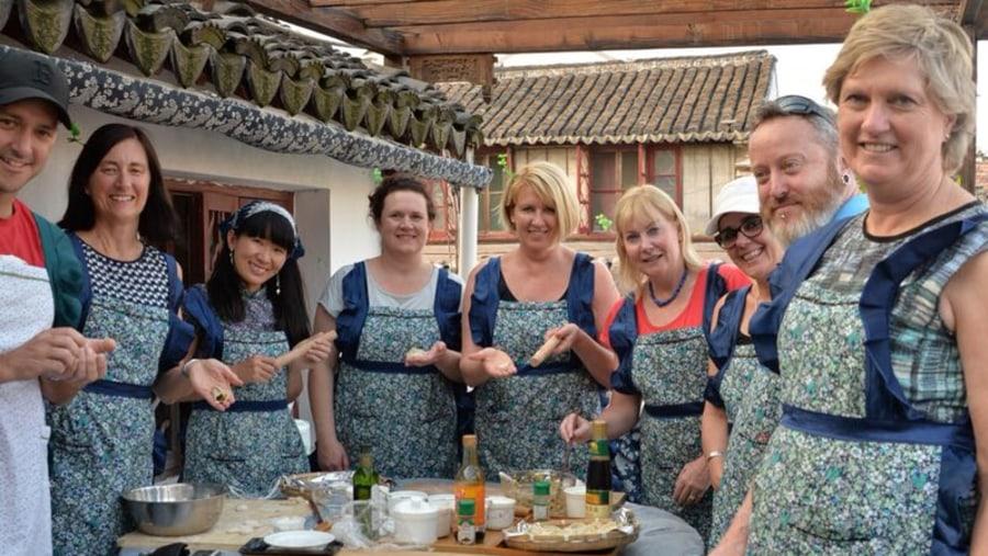 Dumpling class with Miki Tours