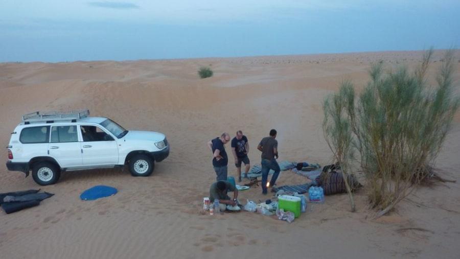 Overnight in Sahara