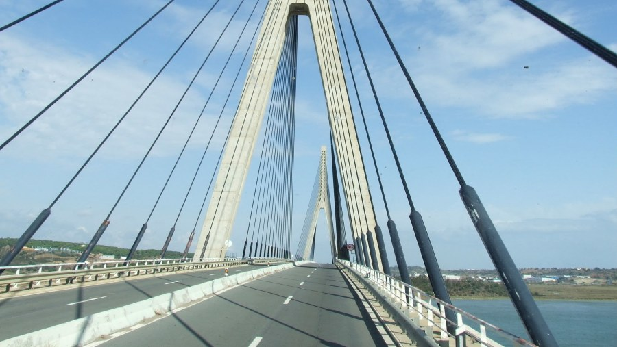 International Bridge on Guadiana River