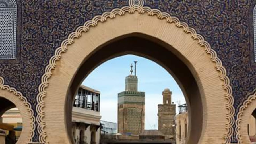 Fez is the second largest city of Morocco