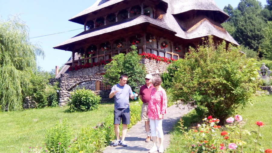 telling stories about Maramures, way of living and the importance and beginnings of the Barsana Monastery