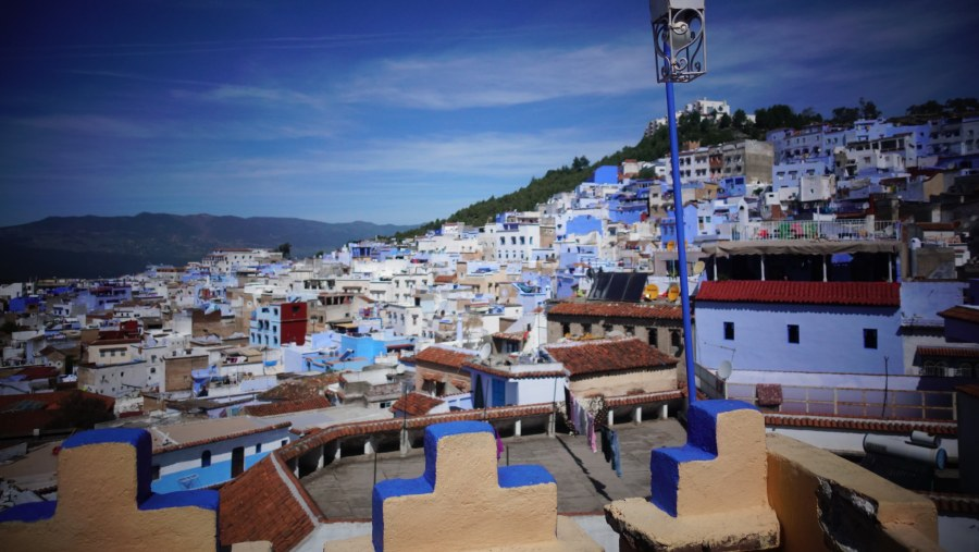 Chefchaouen, Morocco Walking Tour