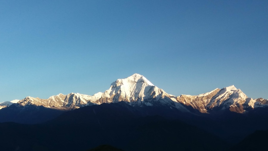 Mt. Dhaulagiri from Poonhill