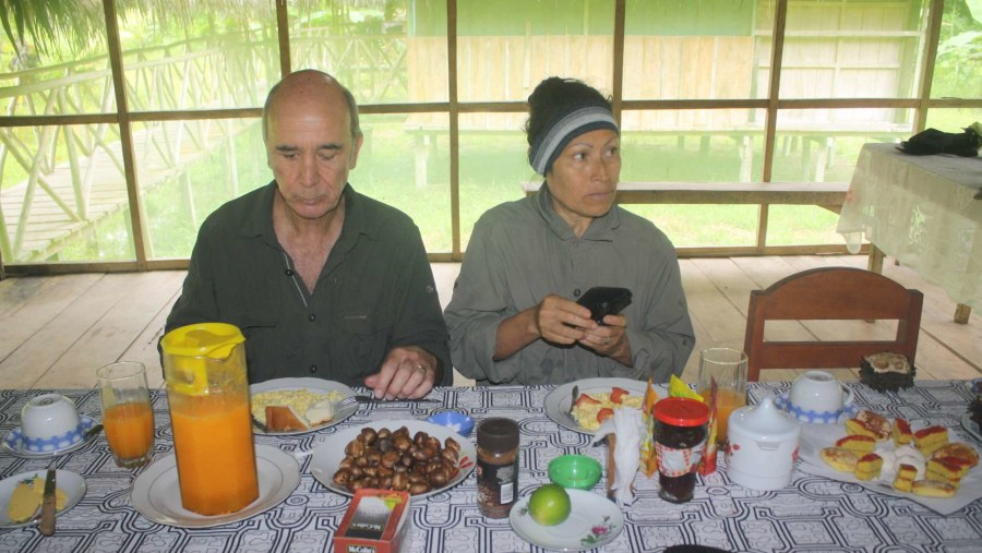 iguana breakfast