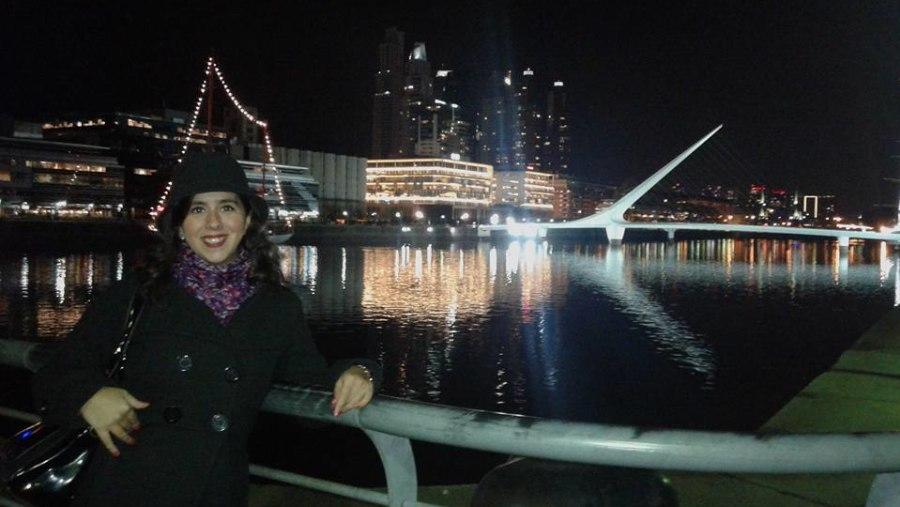 Puerto Madero. Woman´s bridge