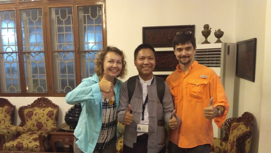 Happy moment with Clients(Winner Inn-21.7.2017)