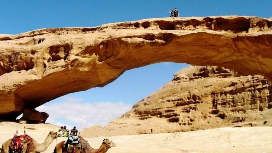 Desert adventures - the rocky Bridge