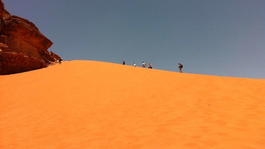 Wadi Rum. Dune