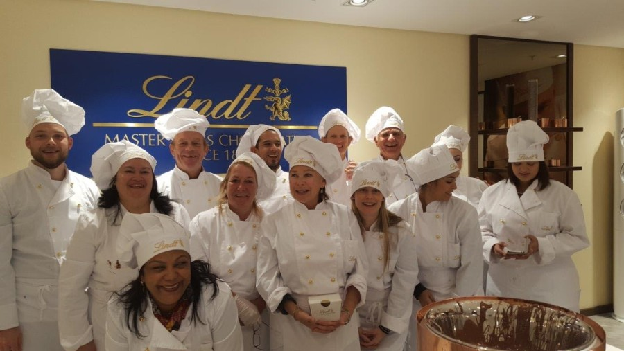 Chocolate Class at Lindt V&A Waterfront
