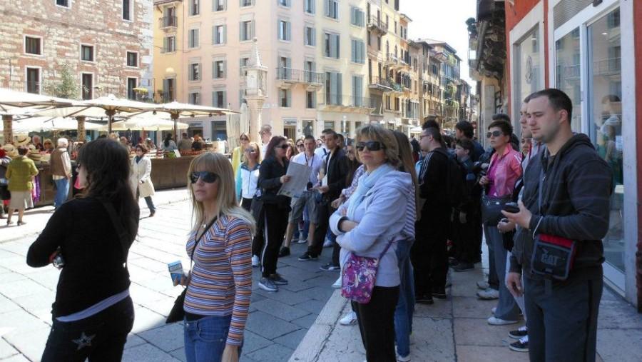 Verona, piazza Erbe