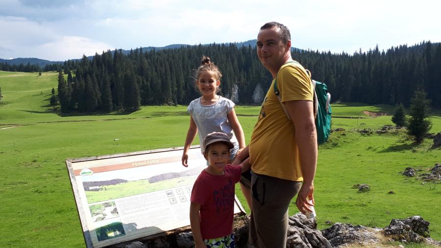Padis Meadow in the Apuseni Mountains - Western Carpathians