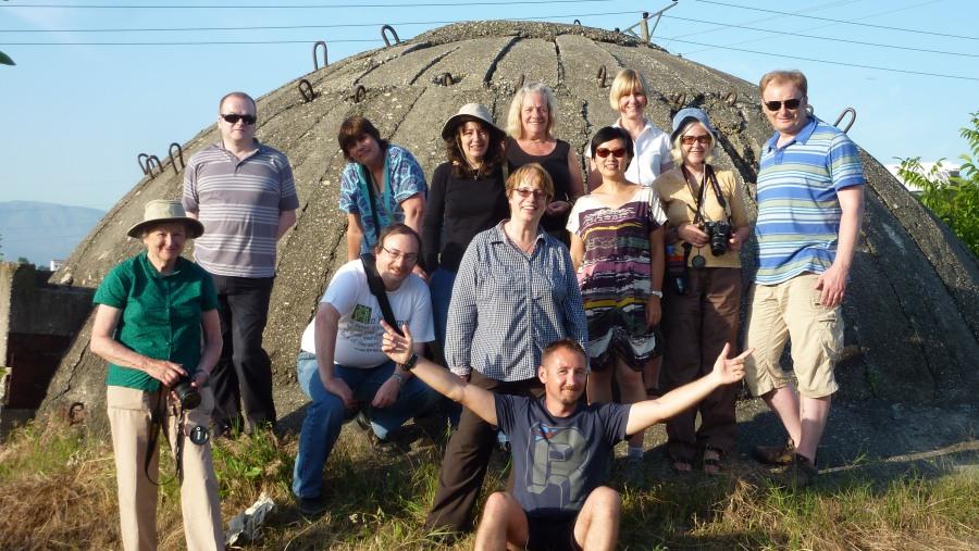 Bunker visit