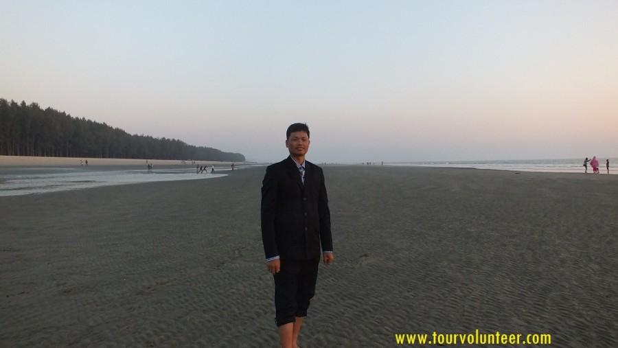 Me, Sea Beach @ Cox's Bazar