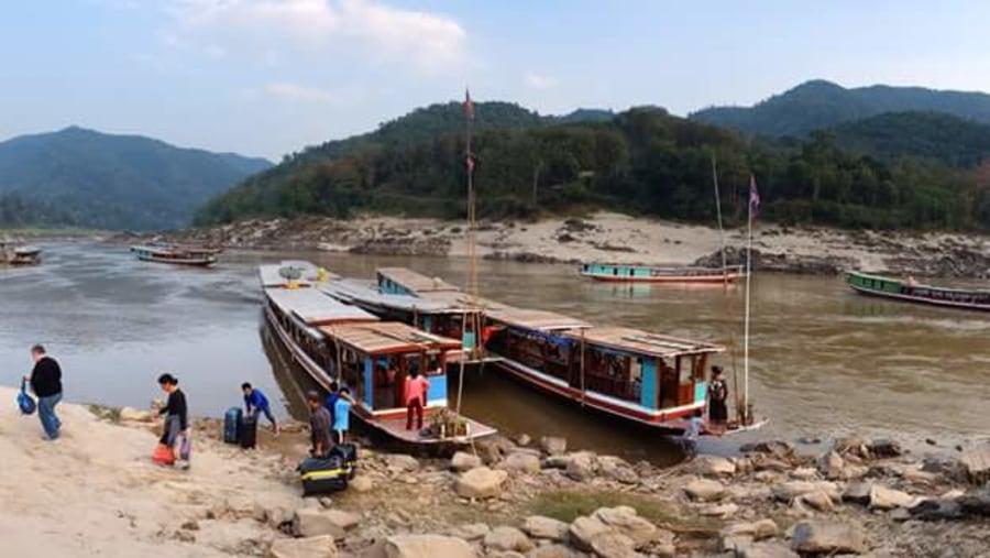 Boat trip 2days from Houeixay - Pakbeng To Luang Prabnag