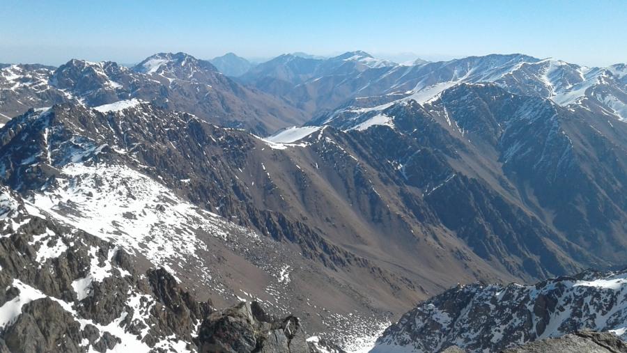 Toubkal ascent trek