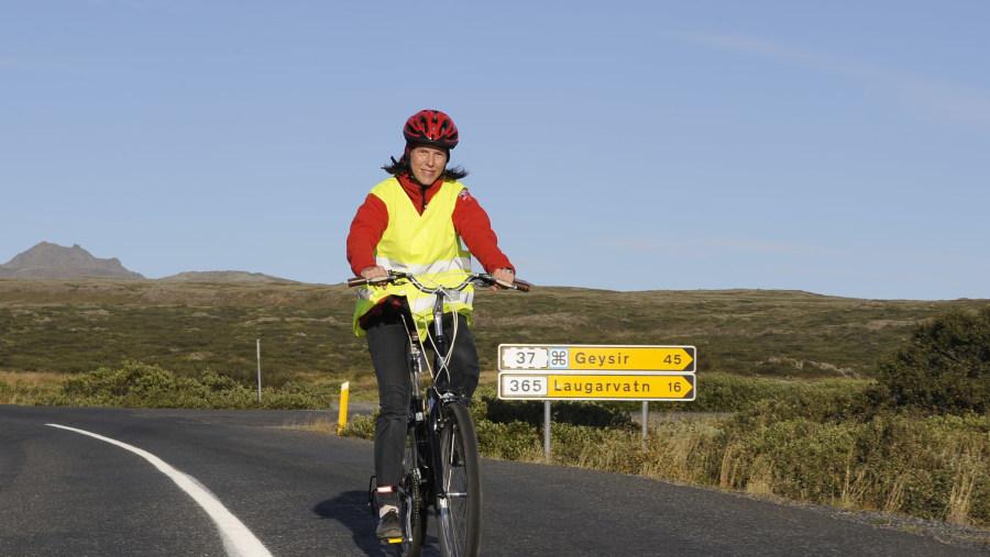 Golden Circle Bike Tour