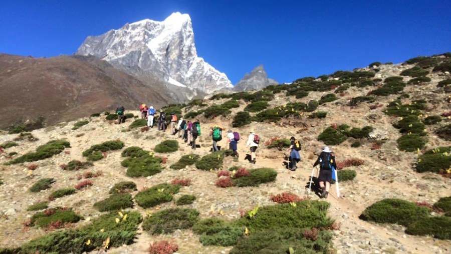 i highly recommend Ganesh Himal Hiking Team