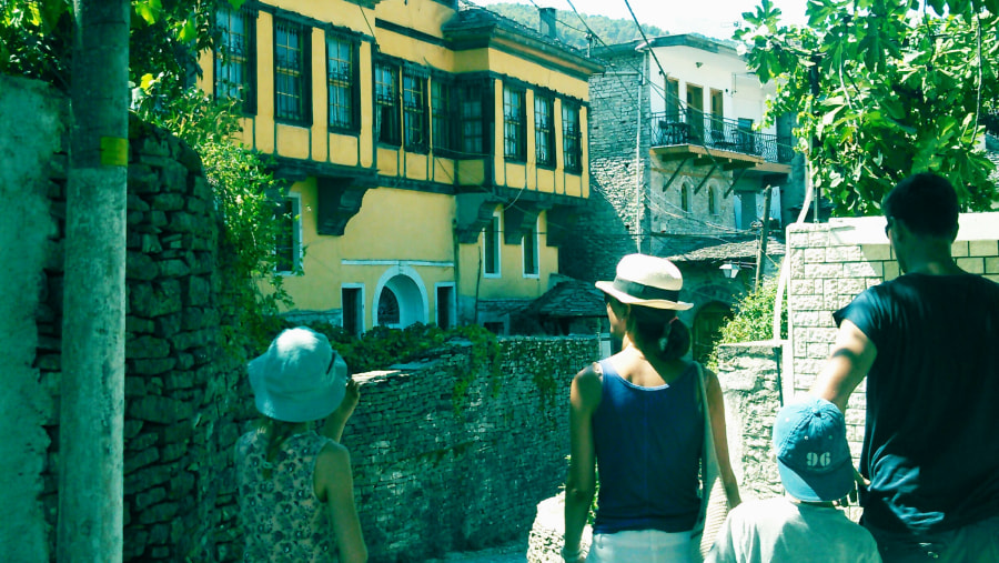 Wandering the old houses...UNESCO city.
