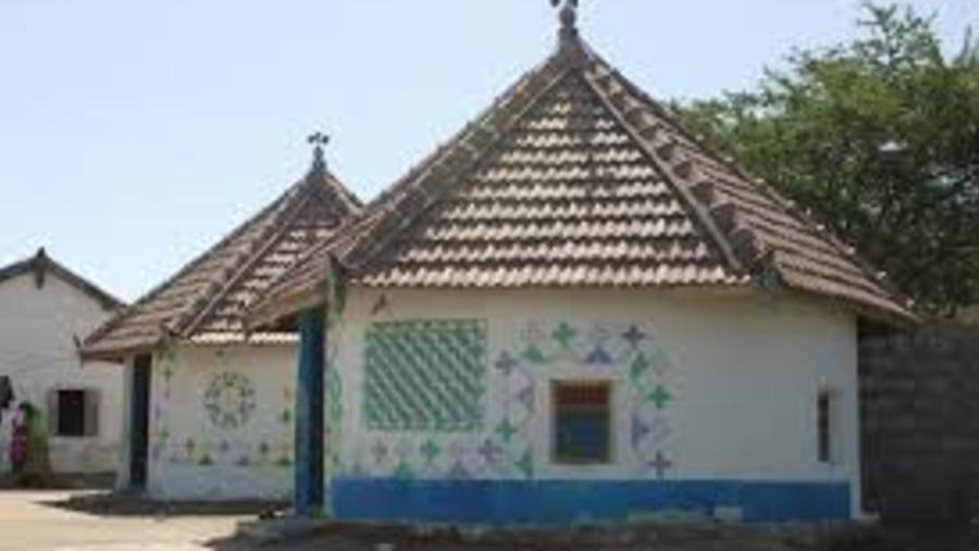Bhungas - round hut