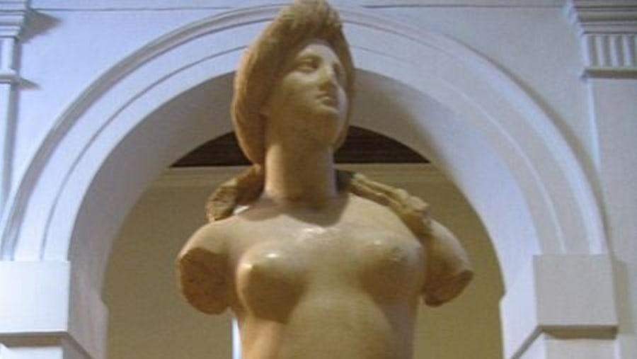 APHRODITE STATUE AT NICOSIA MUSEUM