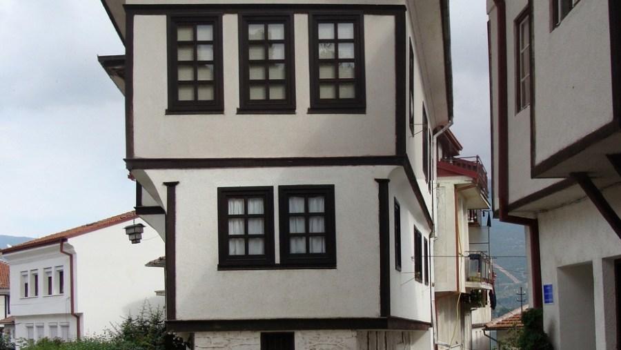 Traditional 19 century Ohrid`s house