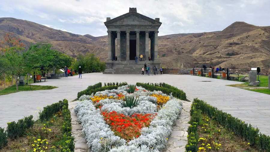 Pagan Temple Garni