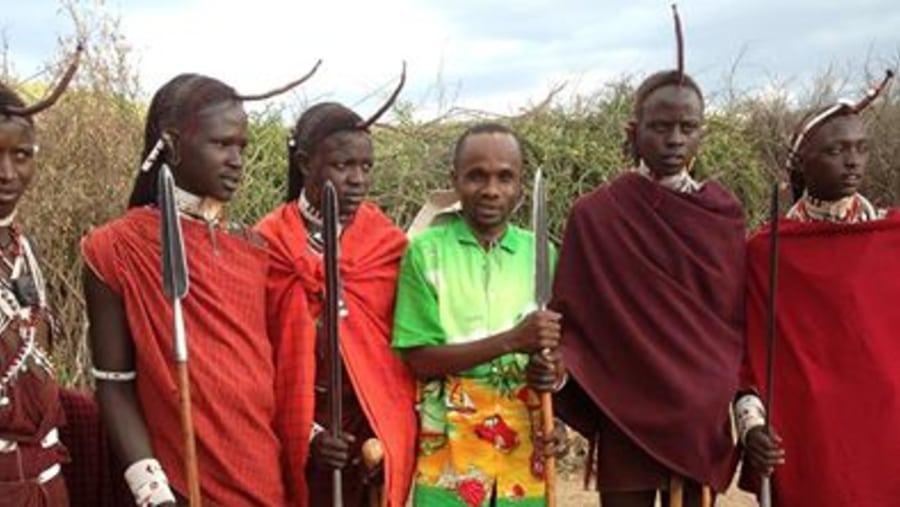 with masai morans