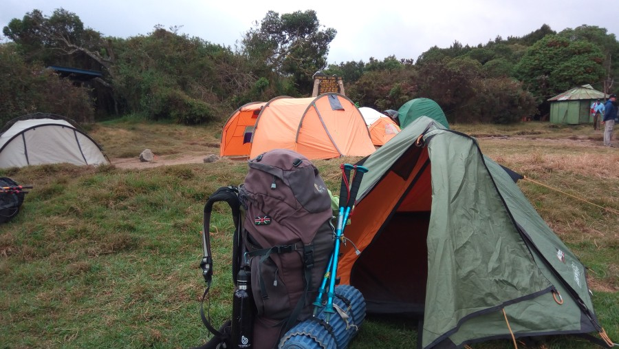 1st Camp Rongai Route, Kilimanjaro