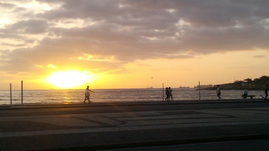 Copacabana Beach, 6:10am