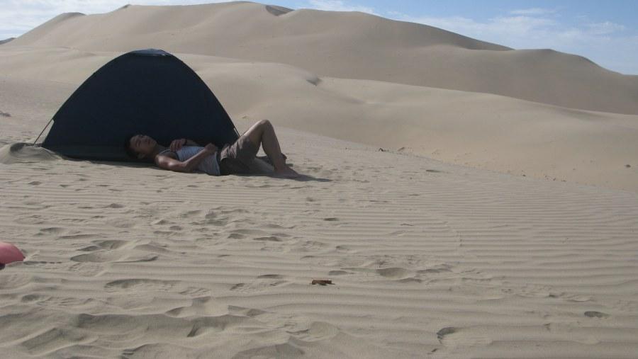 Camping Tour In Cerro Blanco Dune (2070M)