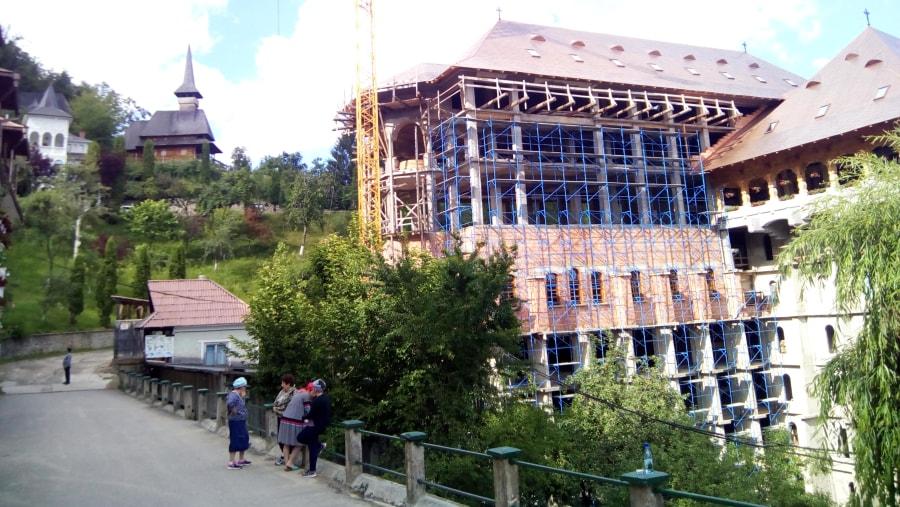 Construction of Huge Monastery at Rohia