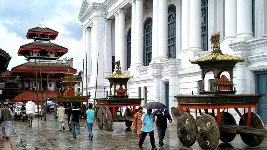 Chariot festival of Kumari
