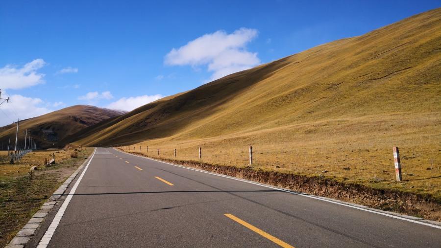 road in western sichuan