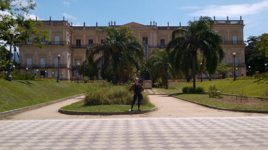 Palácio Imperial, in Quinta da Boa Vista