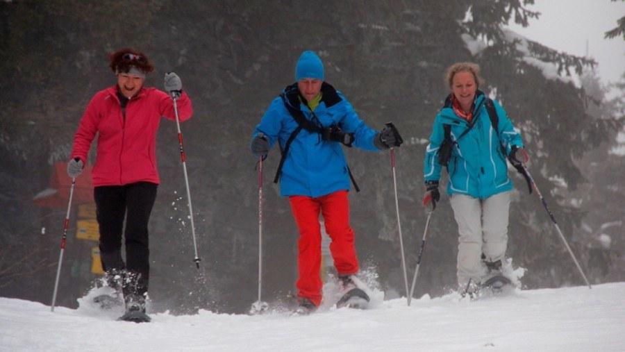 TOURS IN SLOVAKIA, SNOWSHOEING WITH ADVENTOURA.EU