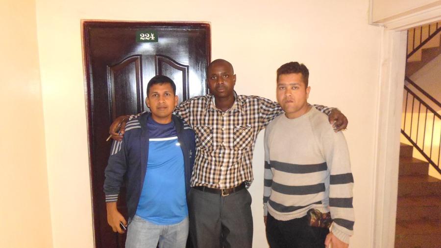 D C kala,david and our friend